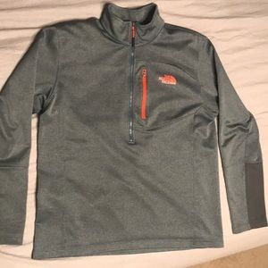 Men's North Face 3/4 zip pullover